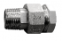 RACCORD UNION MALE-FEMELLE 3 PIECES USINES INOX PN60 - REF 2066
