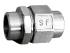 RACCORD UNION 3 PIECES USINES A SOUDER INOX PN60 - REF 2069