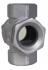 CONTROLEUR DE CIRCULATION FONTE TARAUDE DOUBLE GLACES - REF 2220