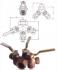 ROBINET A BOISSEAU CONIQUE INVERSE BRONZE PN06 - REF 251/252