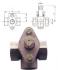ROBINET A BOISSEAU CONIQUE FONCE BRONZE - REF 51T/51L