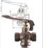 ROBINET A SOUPAPE A PEDALE BRONZE CHAPEAU UNION PN20 - REF 1097T/2097B