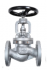 ROBINET A SOUPAPE ACIER CLAPET INOX LIBRE A BRIDES PN40 - REF 125/222