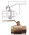 ROBINET A BOISSEAU SPHERIQUE BRONZE PN16 TARAUDE BSP/NPT - REF A70/AU70